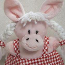 Plush 'Polka the Piggy' Soft Toy